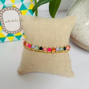 Francis Stretch Bracelet rainbow